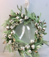 Cotton Candy Permanent Botanical Wreath