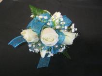 Icy Blue Wristlet Prom