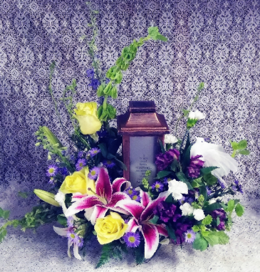"""If Tears Could Build A Stairway"" Floral Design"