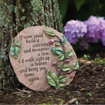 """""""If tears could build a stairway"""" Plaque"""