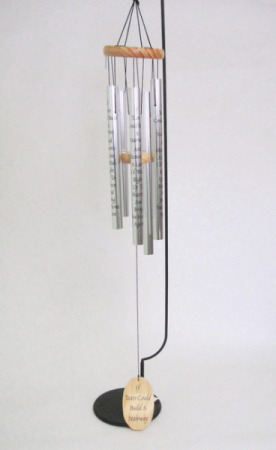 If Tears Could Build a Stairway Windchime- Stand Not Included