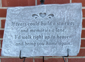 If tears could build. plaque