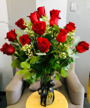 Sweet Valentine- One Dozen BEST SELLER in Whittier, CA | Rosemantico Flowers