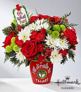 I'll Jingle to that Arrangement Christmas Flowers