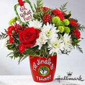 I'll Jingle to That Bouquet Holiday Floral Arrangement