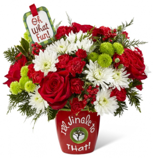 I'll Jingle to That FTD Arrangement in Saint Louis, MO | SOUTHERN FLORAL SHOP