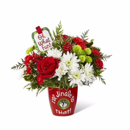 I'll Jingle to That Holiday Bouquet