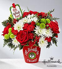I'll Jingle To That! Vase in Macon, GA | PETALS, FLOWERS & MORE