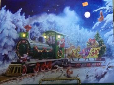 Illuminart - Santa's Toy Train $25.00
