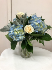 I'm Blue Over You Vase Arrangement