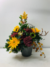I'm Falling For Color Flower Arrangement