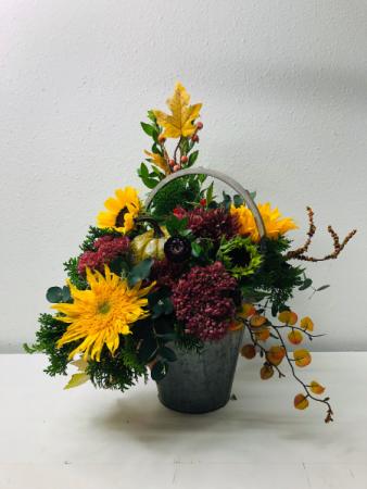 I'm Falling For Color Flower Arrangement