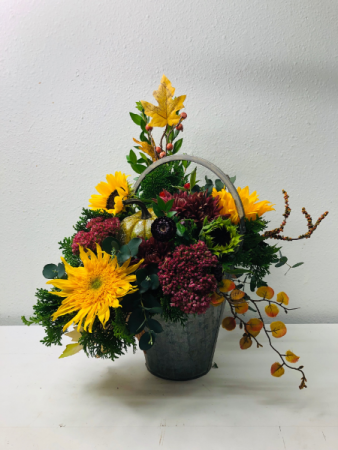 I'm Falling For Fall Flower Arrangement