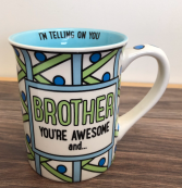 I'm telling on you brother mug Mug
