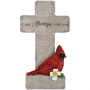 I'm Always With You. Cross with Cardinal