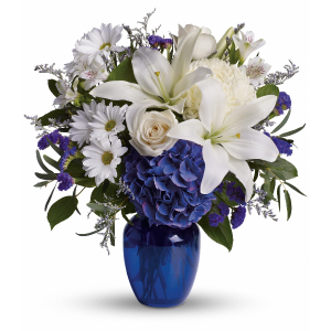 Images of blue beautiful choice in Mount Pearl, NL   FLORAL-ELEGANCE