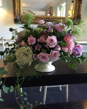Pinks and Purples   in Oakville, ON | ANN'S FLOWER BOUTIQUE-Wedding & Event Florist