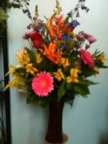 Impress Her Large Mixed Vase Arrangement