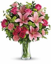 IMPRESSIVE PINK Vase Arrangement