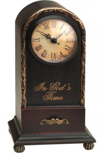 In God's Time Table Clock