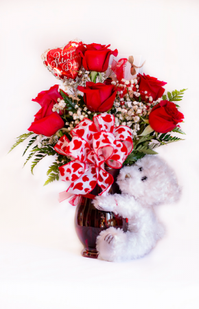 In House Special  1/2 dozen roses