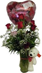 In Love Girl Fresh flowers