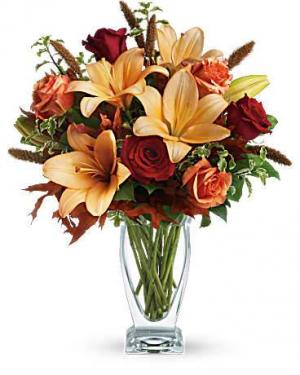 Elegant lilies and roses  in Sunrise, FL | FLORIST24HRS.COM