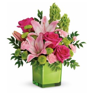 In Love with Lime Fresh Arrangement in Rossville, GA | Ensign The Florist
