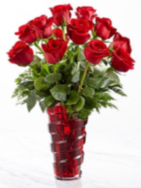 In Love with Red Roses Roses