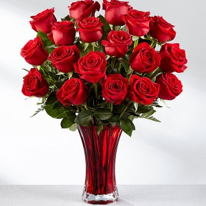 In Love With Red Roses Valentine's Day