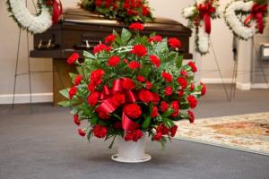 Carnation Melody Basket in Bowman, SC | Seven Flowers Florist