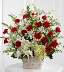 In Loving Memory Funeral Flowers