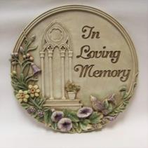 In Loving Memory Garden Stone