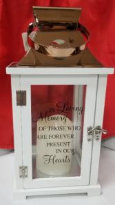 In Loving memory Lantern