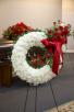 Carnation Melody Wreath Standing Spray