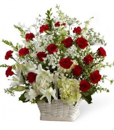 In Loving Memory Sympathy Flowers