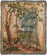 In Loving Memory Throw Gift