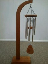 In Loving Memory Windchimes - Stand Sold Separate  Sympathy