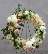 in loving memory wreath