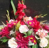 In Loving Remembrance Permanent Botanical Graveside Bouquet