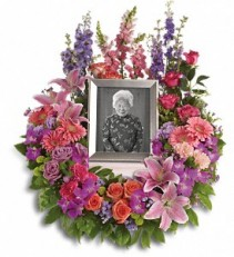 In Memoriam Wreath Funeral Arrangement