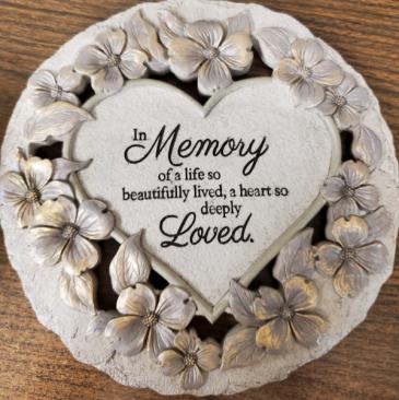 in Memory Garden Stone Memory stone.