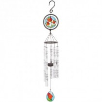 In Memory of a life so Beautifully lived Stained Glass Windchime