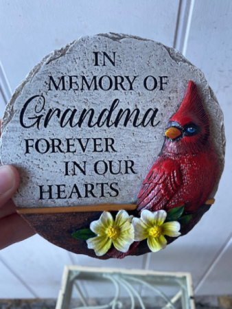 In memory of Grandma...