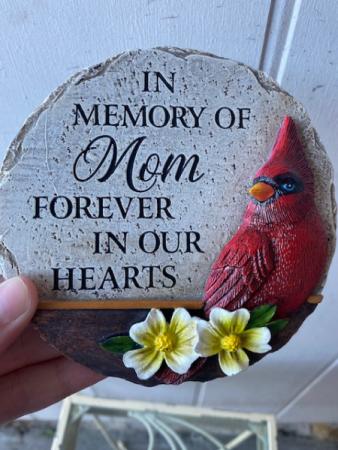 In memory of Mom.....