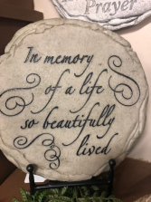 In Memory Stone Giftware