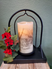 In Our Hearts Flameless Candle