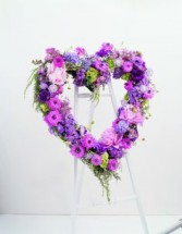 In Our Hearts  Heart Wreath