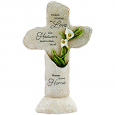In Our Home LED lighted cross statue