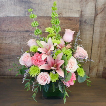 IN PINKS AND GREENS *LOCAL DELIVERY ONLY*
